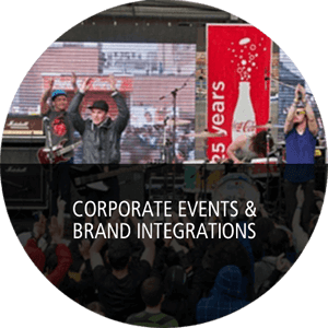 Corporate Events & Brand Integrations