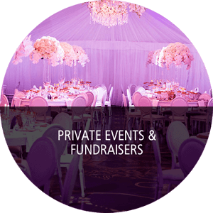 Private Events & Fundraisers