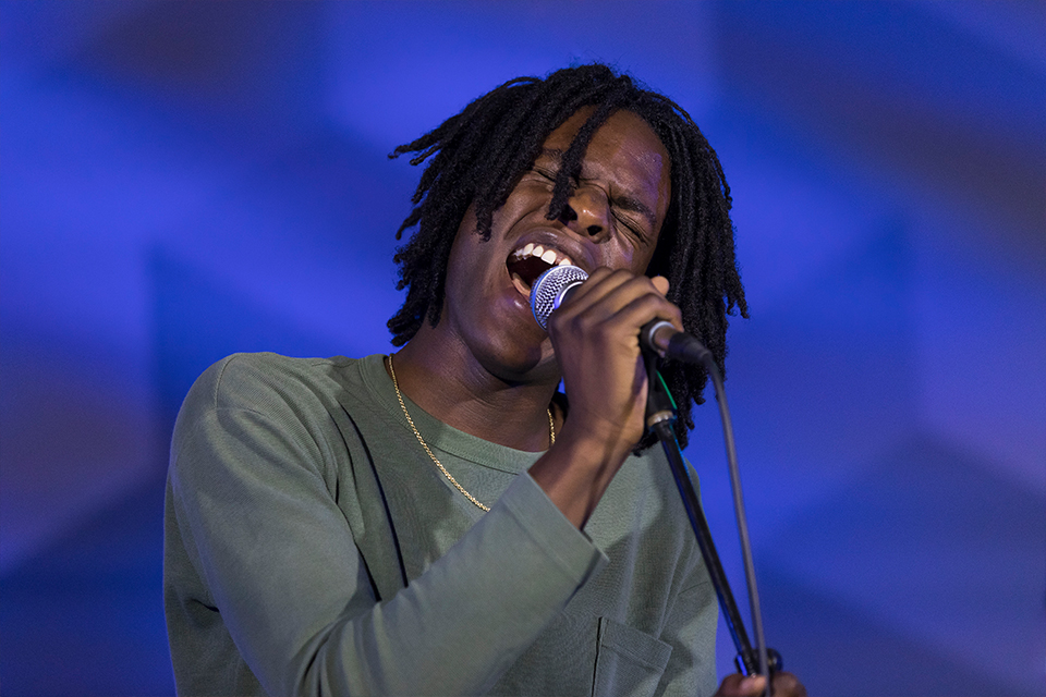 Daniel Caesar at First Canadian Place